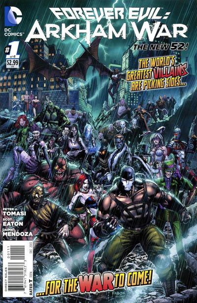 Forever Evil: Arkham War Vol 1 1