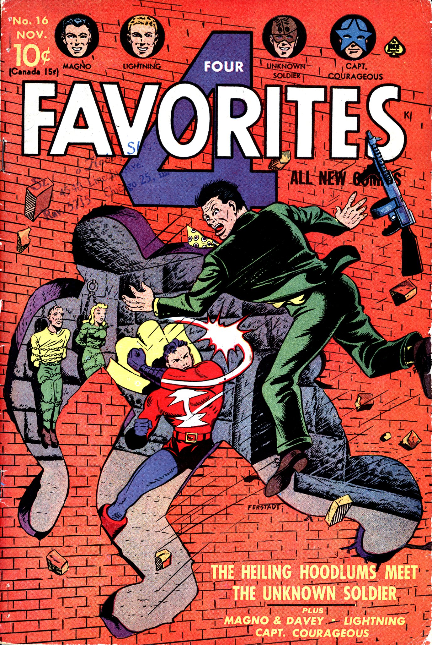 Four Favorites Vol 1 16