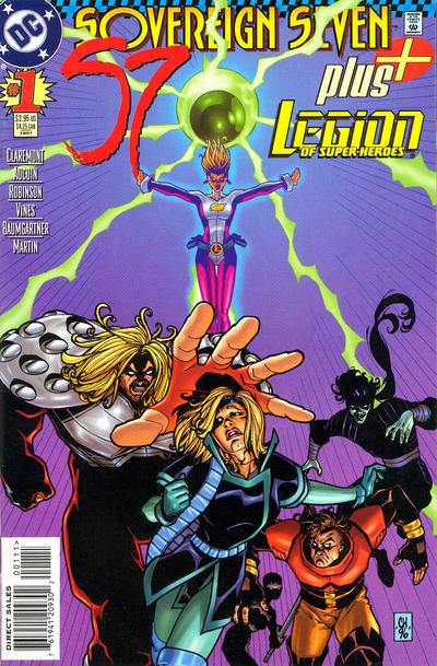 Sovereign Seven Plus Legion of Super-Heroes Vol 1 1