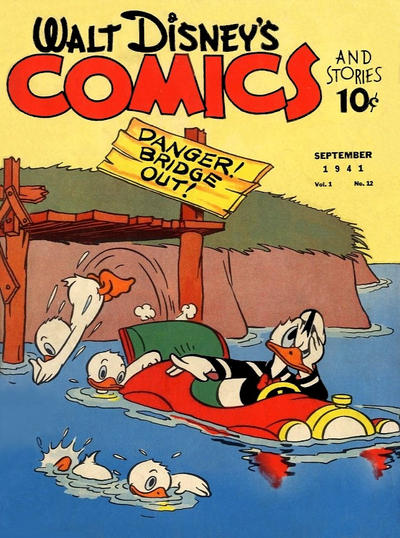 Walt Disney's Comics and Stories Vol 1 12