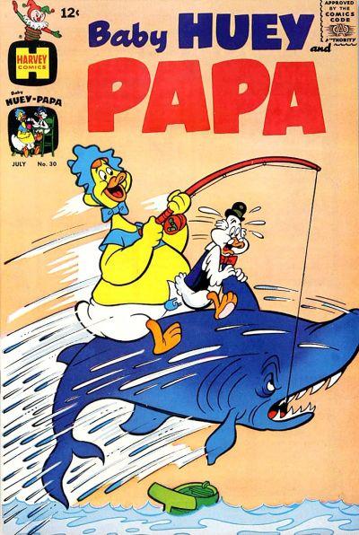 Baby Huey and Papa Vol 1 30