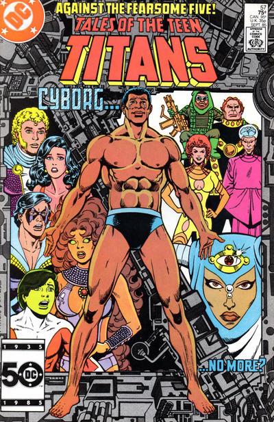 Tales of the Teen Titans Vol 1 57