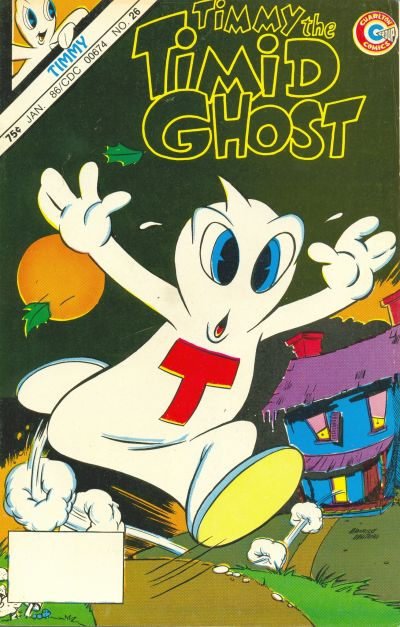 Timmy the Timid Ghost/Covers