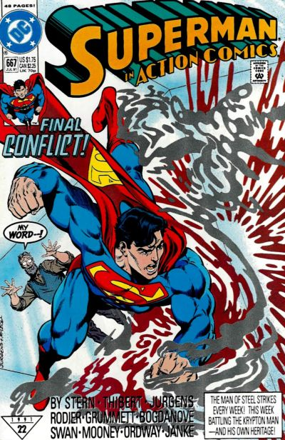 Action Comics Vol 1 667