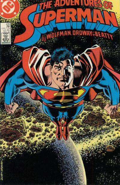 Adventures of Superman Vol 1 435