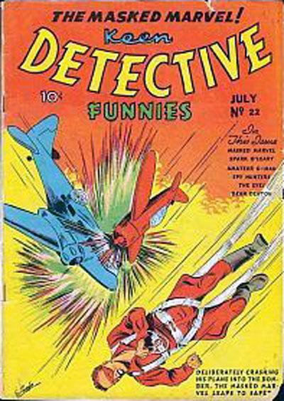 Keen Detective Funnies Vol 1 22