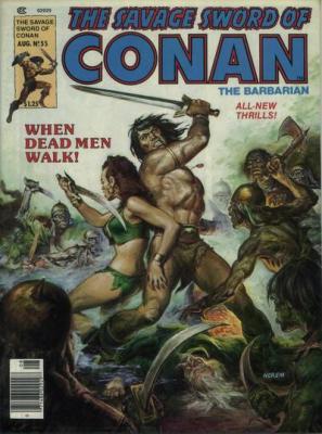 Savage Sword of Conan Vol 1 55