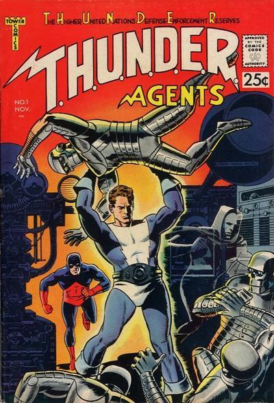 T.H.U.N.D.E.R. Agents Vol 1
