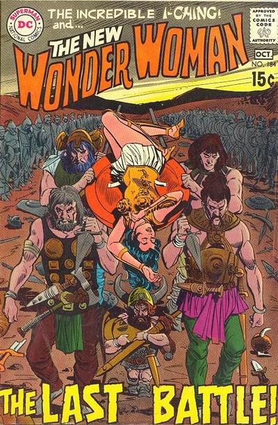 Wonder Woman Vol 1 184