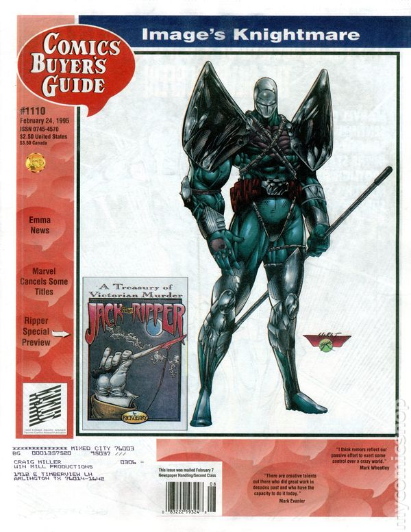 Comics Buyers Guide Vol 1 1110