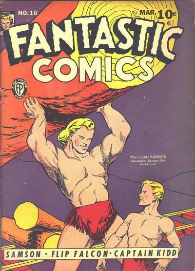 Fantastic Comics Vol 1 16