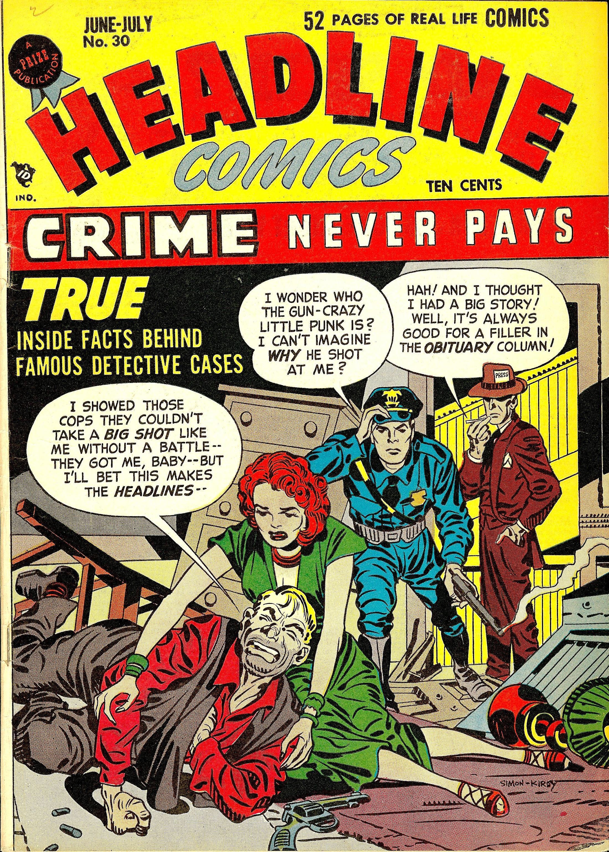 Headline Comics Vol 1 30