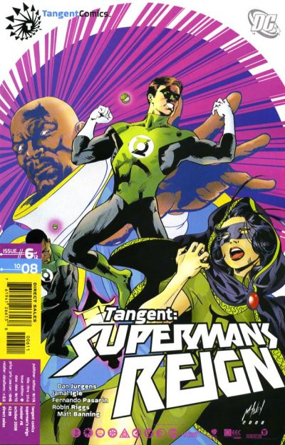 Tangent: Superman's Reign Vol 1 6