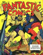 Fantastic Comics Vol 1 2