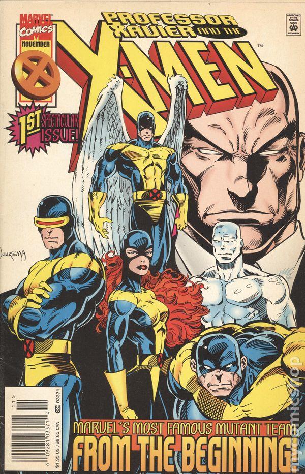 Professor Xavier and the X-Men/Over The Edge Flipbook Vol 1 1