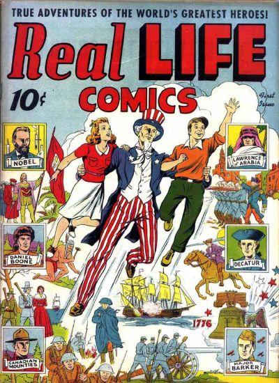 Real Life Comics Vol 1