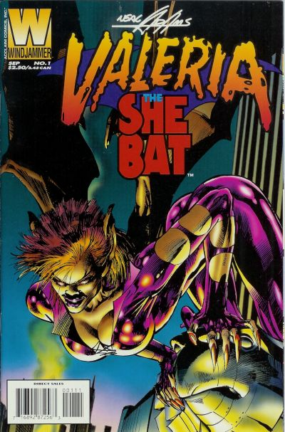 Valeria, the She-Bat Vol 2 1