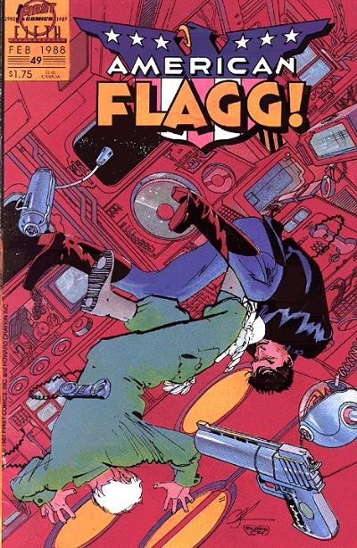 American Flagg Vol 1 49
