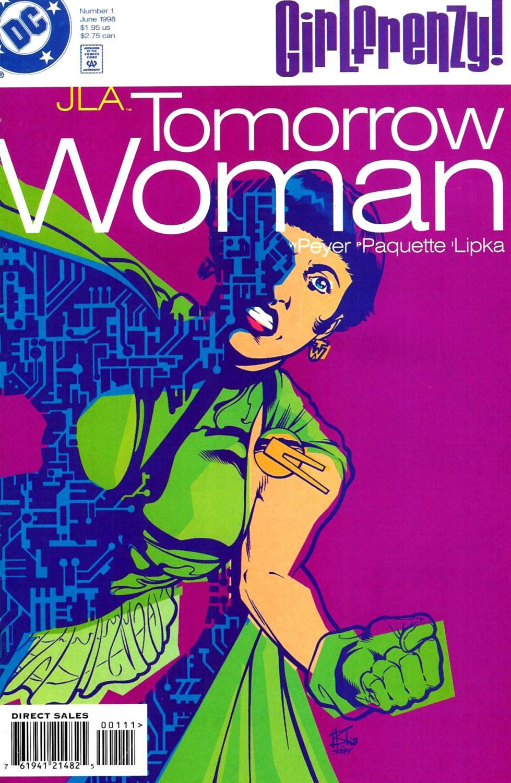 JLA: Tomorrow Woman Vol 1 1