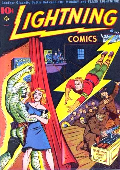 Lightning Comics Vol 1 6