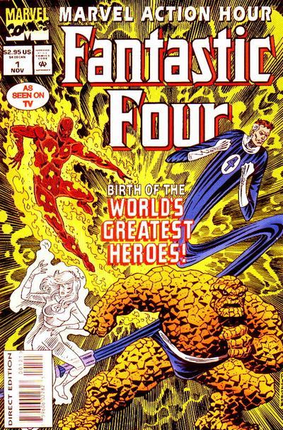 Marvel Action Hour, Featuring the Fantastic Four Vol 1