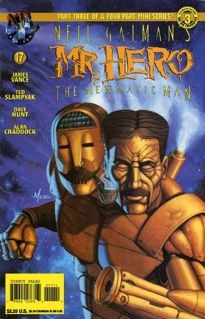 Neil Gaiman's Mr. Hero - The Newmatic Man Vol 1 17
