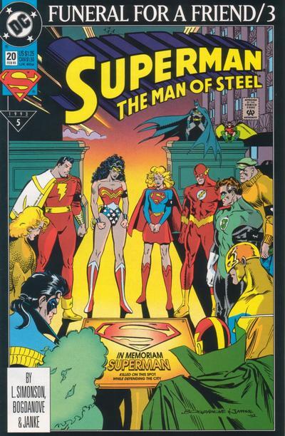 Superman: Man of Steel Vol 1 20