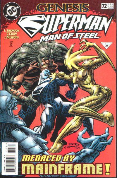 Superman: Man of Steel Vol 1 72