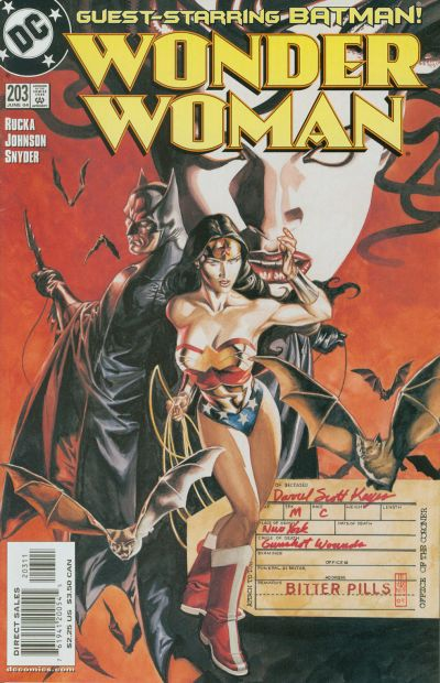 Wonder Woman Vol 2 203