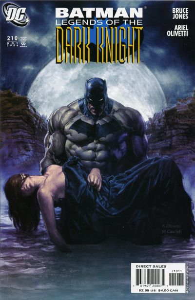 Batman: Legends of the Dark Knight Vol 1 210