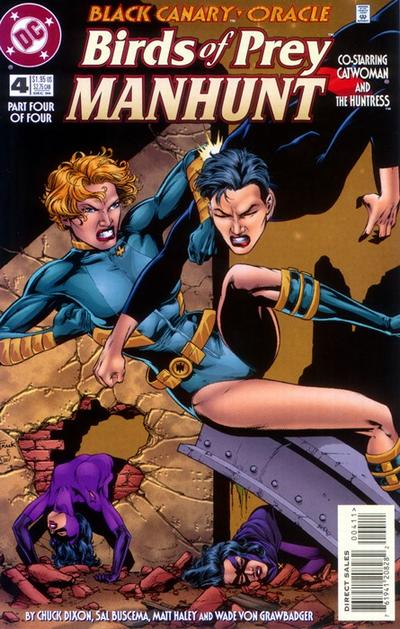 Birds of Prey: Manhunt Vol 1 4