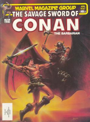 Savage Sword of Conan Vol 1 87