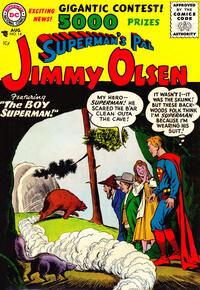 Superman's Pal, Jimmy Olsen Vol 1 14.jpg