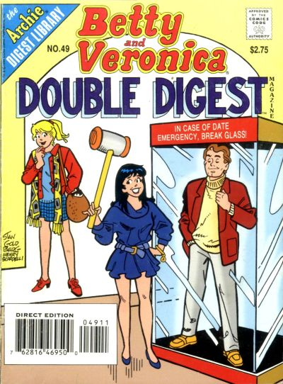Betty and Veronica Double Digest Magazine Vol 1 49
