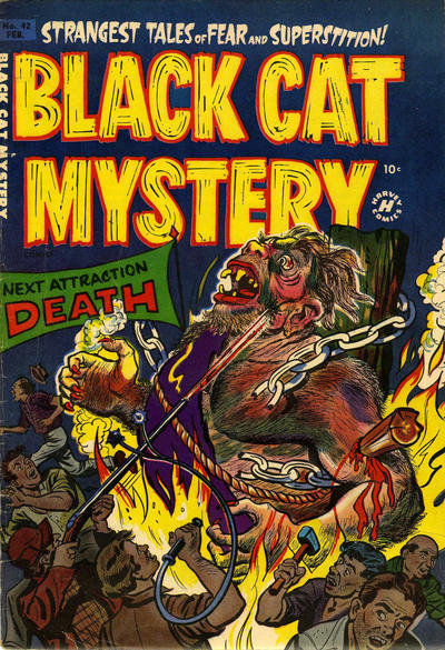 Black Cat Comics Vol 1 42
