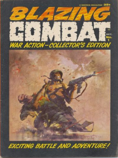 Blazing Combat Vol 1 1