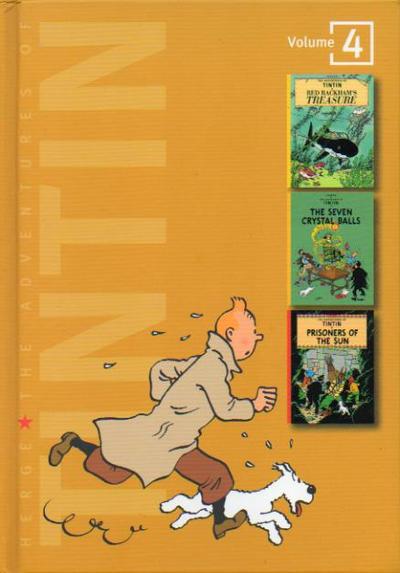 Adventures of Tintin Hardcover Vol 1 4