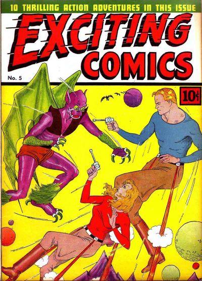 Exciting Comics Vol 1 5