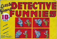 Little Giant Detective Funnies Vol 1 1