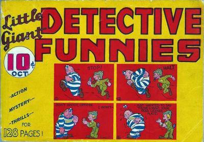 Little Giant Detective Funnies Vol 1