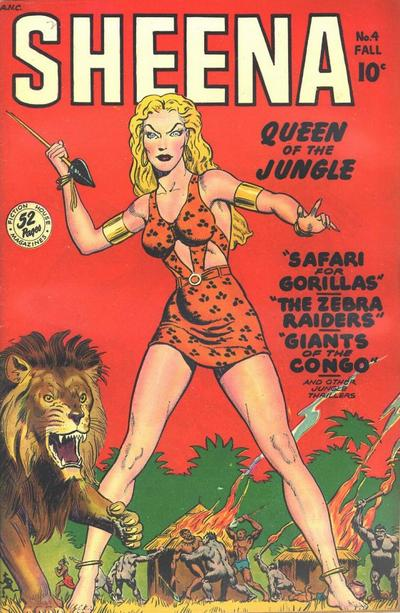 Sheena, Queen of the Jungle Vol 1 4