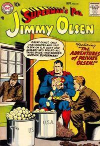 Superman's Pal, Jimmy Olsen Vol 1 23.jpg