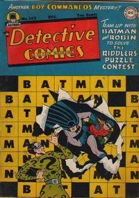 Detective Comics Vol 1 142
