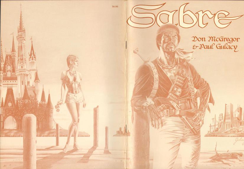 Sabre (TPB) Vol 1