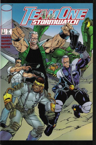 Team One: StormWatch Vol 1 2