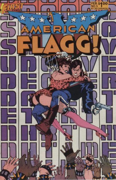 American Flagg Vol 1 5