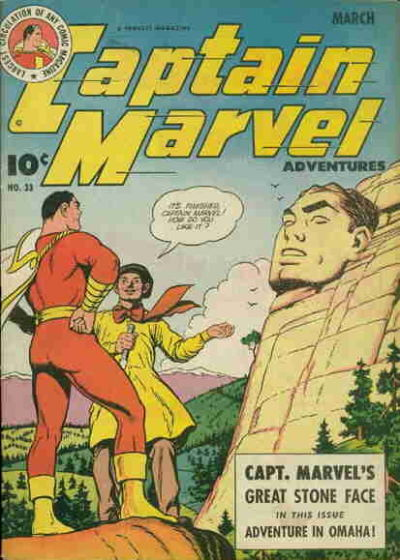 Captain Marvel Adventures Vol 1 33