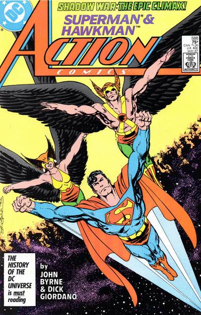 Action Comics Vol 1 588