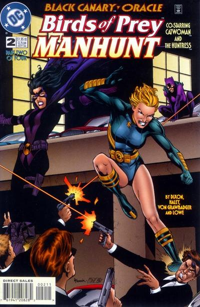 Birds of Prey: Manhunt Vol 1 2