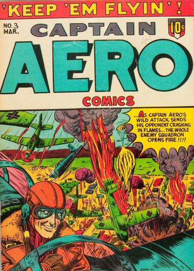 Captain Aero Comics Vol 1 3